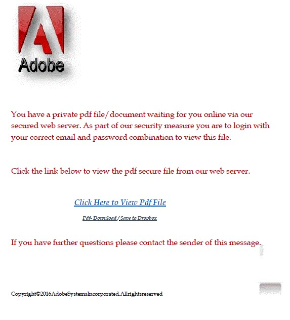 Email Scam Be Careful