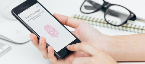 Adding a fingerprint to Touch ID on iPhone